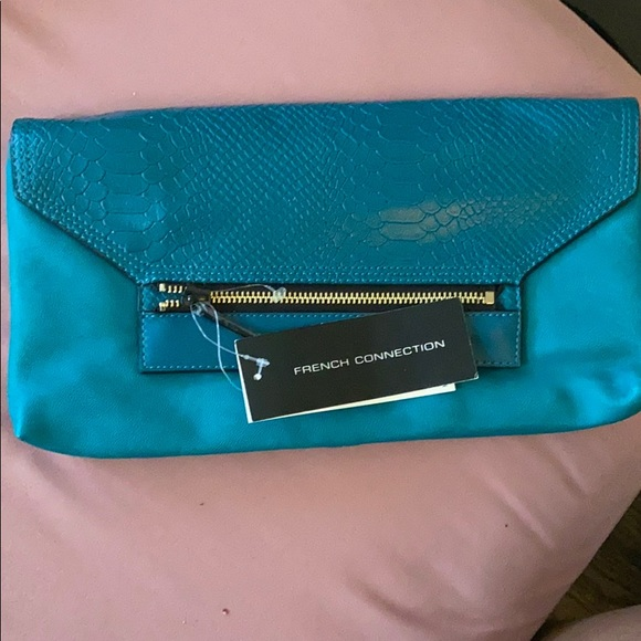 Jade color clutch